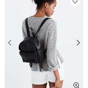 Madewell Lorimer Mini Backpack Black